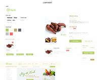 Redesign Xanh Shop / Tung Vo