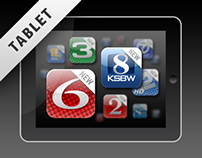 Hearst TV Stations Tablet News Applications