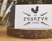 The Reserve - logo & visual identity