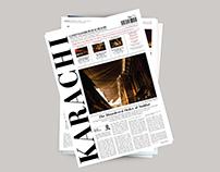 Newsletter Layout Design | Karachi