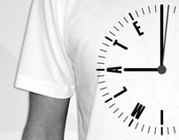 'Sorry I'm Late' T-Shirt