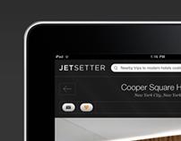 Jetsetter iPad App