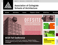 ACSA Website Redesign