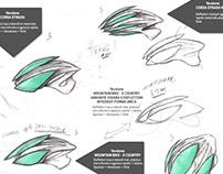 Evotion Helmet Prototype Graphic Design 2013