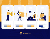 Elgameya FinTech Mobile App UI/UX