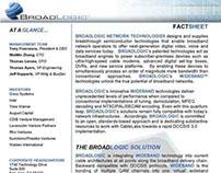 BROADLOGIC Corporate Fact Sheet