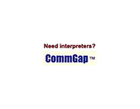 Web ad for Commgap (2005)
