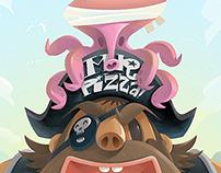 2012 Pirate Park! 海賊樂園 Mr.PIZZA! 披薩先生