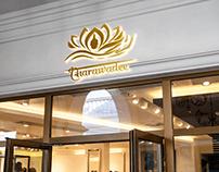 Thai massage salon logo