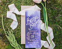 Woodland Garden Bridal Brunch: Paper Goods + Decor