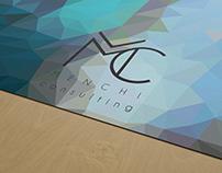 Menchi consulting - logo, brand identity
