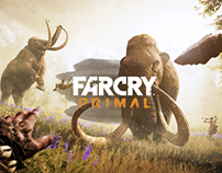 Ubisoft - Far Cry Primal Website Redesign Concept