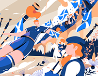 Google Doodle / Fifa Women's World Cup 2019 - Scotland