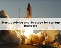 Startup Advice and Strategy for startup founders