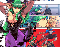 Street Fighter vs Darkstalkers preview