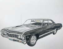 Car Illustration- Supernatural