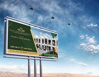 Banner design for restaurant complex
