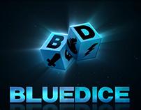 Blue-Dice.com Logo animation