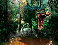 3D TV ads poster