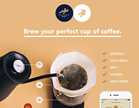 COFFEENAUT - Brew your perfect cup of coffee.
