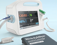 Welch Allyn Connex Vital Signs Monitor UI Prototype