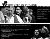 Keegan Theatre Posters (2002-03 Season)