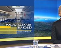 """Projekt grafiki ekranowej """"Fakty TVN"""""""