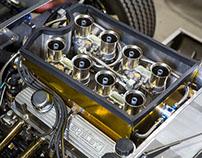 Cobra Daytona Coupe Engine Photography