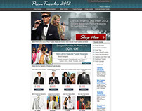 Prom Tuxedos Website