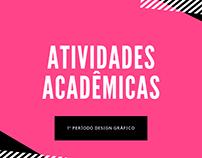 Atividades acadêmicas Design Gráfico