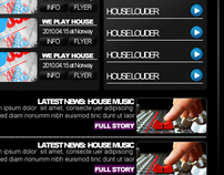 Web design - DJ GOZUMEL