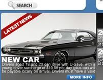 Web design - Liberty car hire