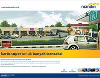 mandiri print ad campaign