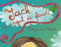Book illustration-jack and the beanstalk