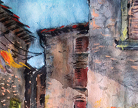 my drawings on a journey to Italy