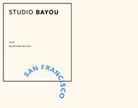 Identity : Studio Bayou