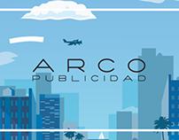 WEB ARCO Publicidad website and concept