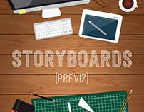 Storyboards (Previz)
