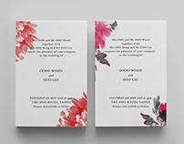 Wedding invitation 2018. May