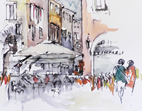 my drawings -travel for Italy 2