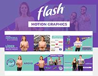 Flash | Motion Graphics + Video