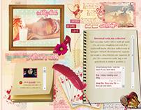Web design || Personal site - Alixia88
