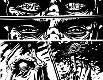 Storyboard for LoveLife tatoo studio movie