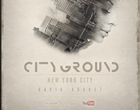 CITYGROUND - Minimal Underground flyer design
