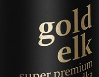 GOLD & BLACK ELK