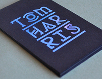 Tom Harris branding & business cards