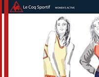 LE COQ SPORTIF - WOMEN'S ACTIVE