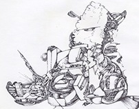 Archive Dump: Drawings from 2011/2012 (Batch1)