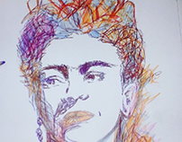 Frida calho drawing