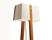The Birdhouse Floor Lamp by Strand Design